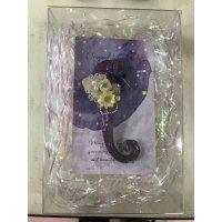 タツノオトシゴ ブローチ (紫)