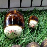 陶器のモグラさん