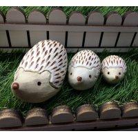 陶器のハリネズミさん